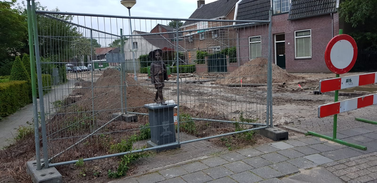 Afkoppelen Regenwater van Coothstraat Boxmeer